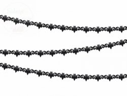 Girlanda bibułowa czarna Nietoperze 4m
