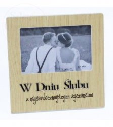 Ramka Moments W Dniu Ślubu - 1szt  10x15cm