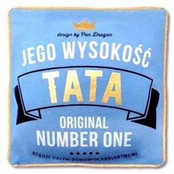 Poduszka Royal  WYSOKOŚĆ  TATA  30 x 30 cm