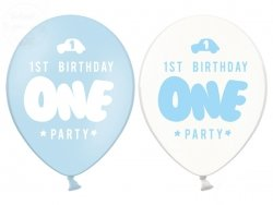 Balony 30 cm One pastel baby blue