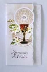 Zaproszenie na I Komunię Świętą dla Babci