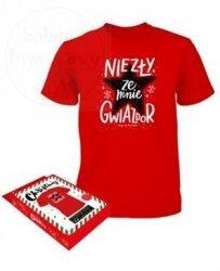 Koszulka Czerwona XL Niezły ze mnie gwiazdor