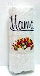 Ręcznik z haftem MAMA  50x100cm Różne wzory!