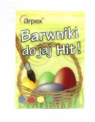 Barwniki do jajek 4 kolory