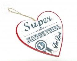 Serce SUPER NAUCZYCIEL - 007  1szt
