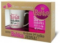 Kubek Set Family Super BABKA - królowa jest..