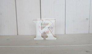 Litera drewniana wys. 18 cm K 1szt