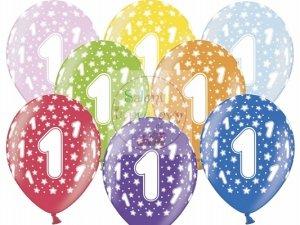 Balony 14 cali metalik mix color 1