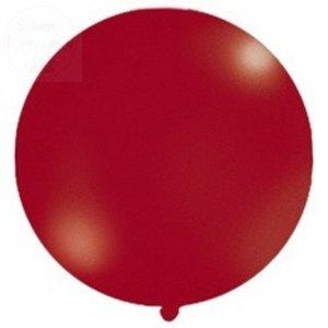 Balon metalic bordowy 1m