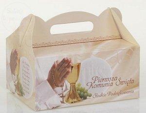 Pudełko, opakowanie na ciasto Komunijne PK04