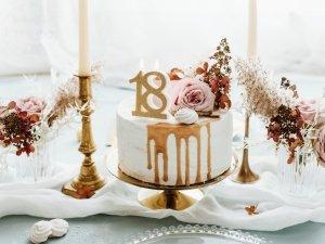 Świeczka urodzinowa do tortu liczba 18