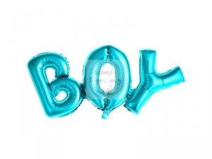 Balon foliowy niebieski Boy 67x29 cm