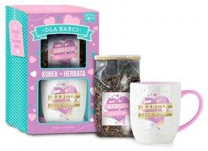 Kubek + Herbatka dla BABCI 390 ml + 50 g