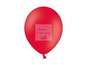 Balony 12 cali pastel czerwone