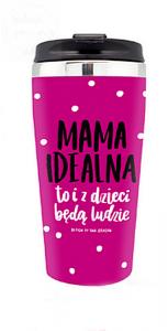 Kubek termiczny lady  Mama idealna to i ...