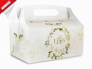 Pudełko, opakowanie na ciasto komunijne - całe dno