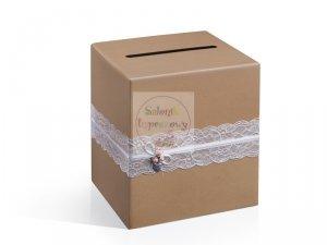 Pudełko na koperty, telegramy skarbonka PUDTM2
