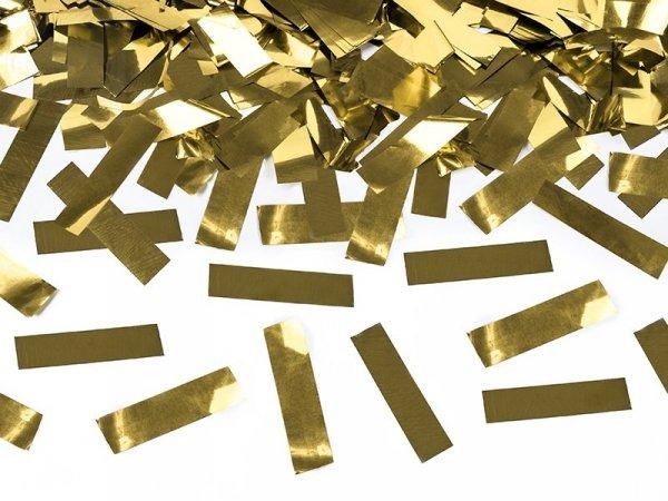 Tuba strzelająca złotym metalicznym konfetti 80cm
