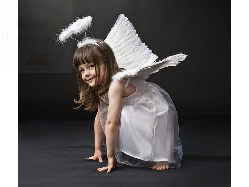 Sukienka aniołek z tiulem 6-8 lat 1szt CTM5