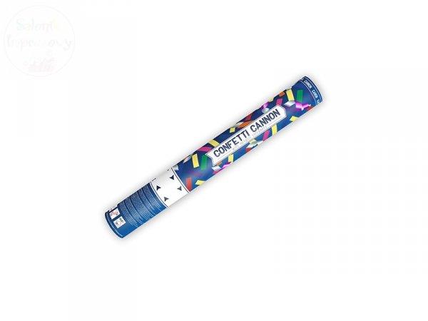 Tuba strzel konfetti oraz serpentyny metaliczne 40