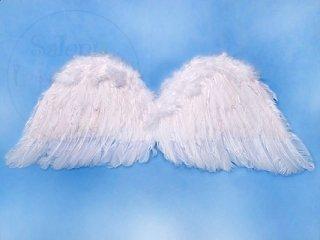 Skrzydła anioła białe 75x30cm