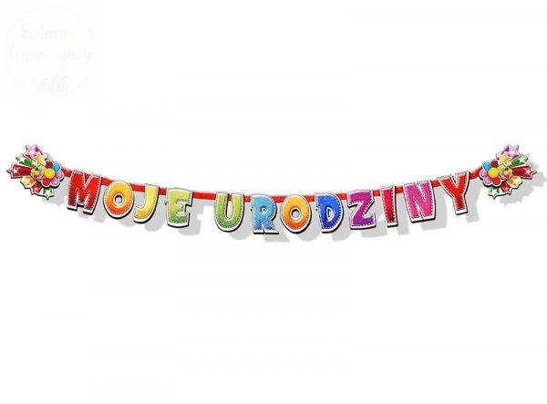 Baner Moje Urodziny 207cm BR2