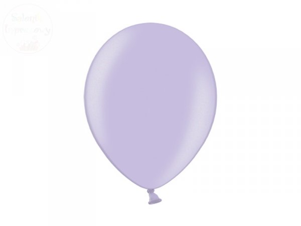Balony 12 cali metalic lawendowy 1szt