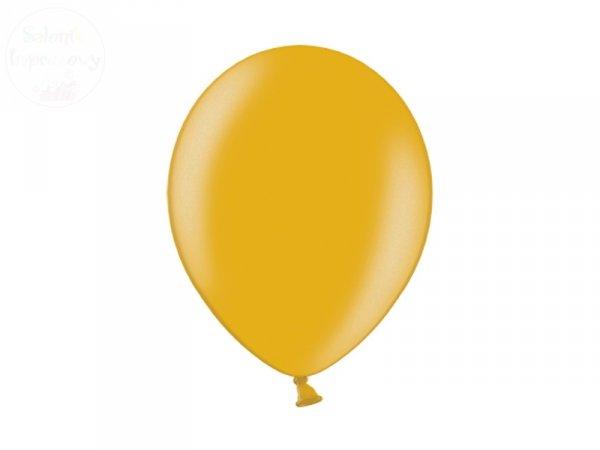 Balony 12 cali metalic złote