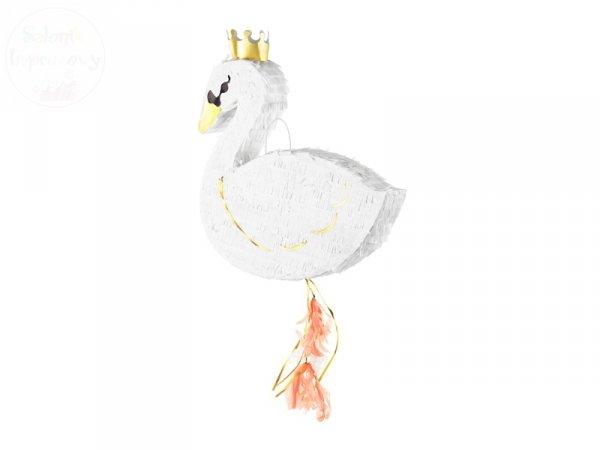 Piniata - Łabędź w złotej koronie