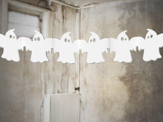 """Girlanda bibułowa na Halloween """"Duszki""""  1szt"""