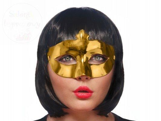 Maseczka karanawałowa złota