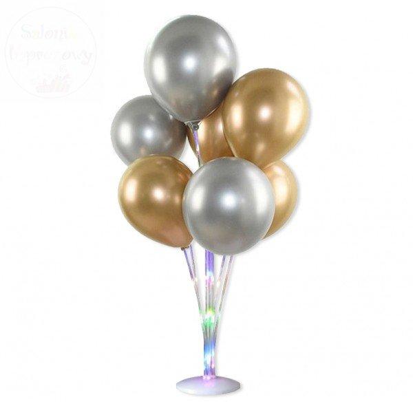 Stojak LED na balony wys. 76 cm - na 7 balonów