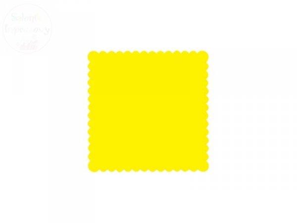 Serwetki gastronomiczne  żółte 15 x 15 cm