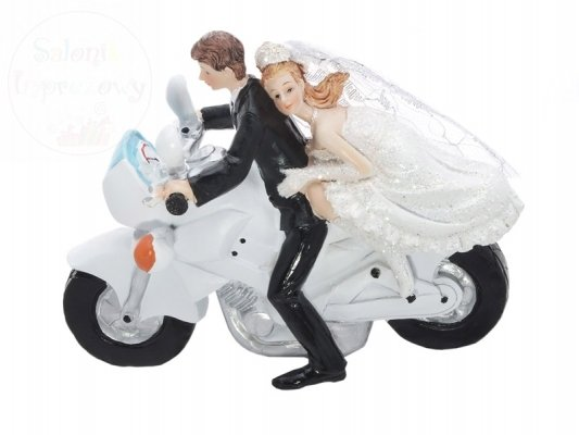 Figurka Para Młoda młoda na motorze PF33