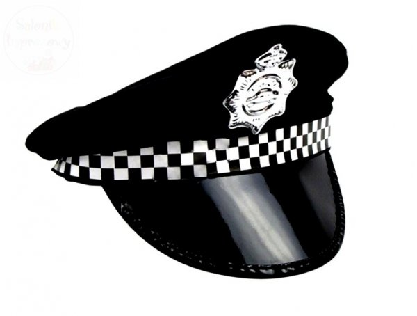 Czapka policjanta - 1 szt