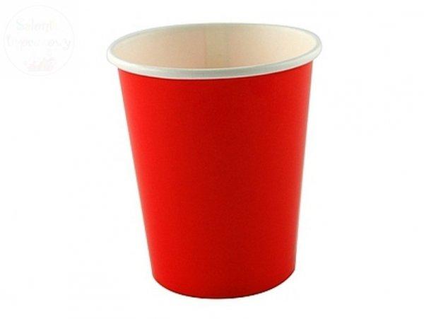 """Kubeczki papierowe """" Czerwone """" 260 ml -6 szt"""