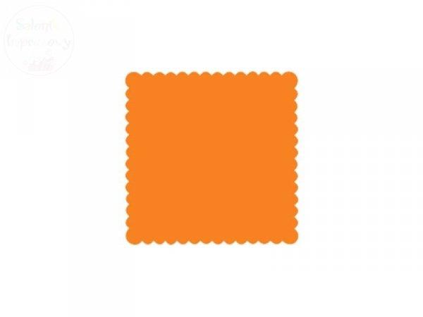 Serwetki gastronomiczne 15x15 pomarańcz 200szt
