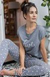 piżama damska sensis lucia serduszka