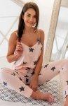 Piżama damska w gwiazdki Sensis Rafaela
