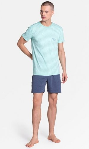 Piżama Henderson 38875 Lobe kr/r M-2XL