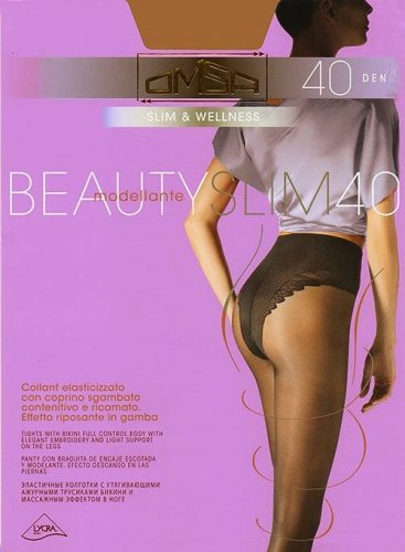 Rajstopy Omsa Beauty Slim 40 den