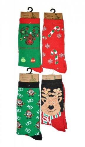 Skarpety RiSocks Merry Christmas 3058 damskie