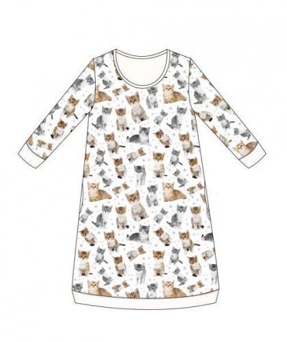 Koszula Cornette Kids Girl 942/105 Lovely Cats 4 dł/r 86-128