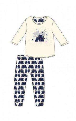 Piżama Cornette Young Girl 975/94 Two Cats dł/r 134-164