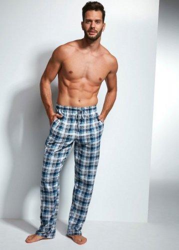 Spodnie piżamowe Cornette 691 turkusowe