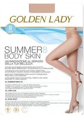 Rajstopy Golden Lady Summer Body Skin 8 den 5-XL