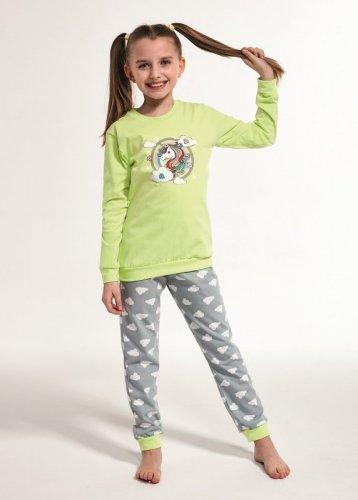Piżama Cornette Kids Girl 594/109 Unicorn dł/r 86-128
