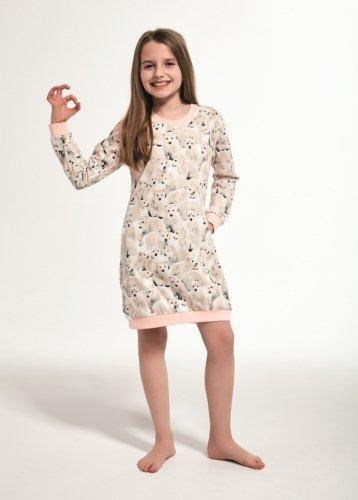 Koszula Cornette Kids Girl 942/120 Polar Bear 3 dł/r 86-128