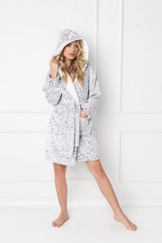 Szlafrok Aruelle Wild Look Bathrobe