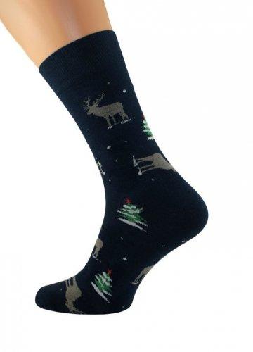 Skarpety Bratex 3008 X-Mass Socks męskie 39-46